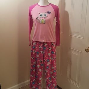 Other - 2 piece pajama set with extra top